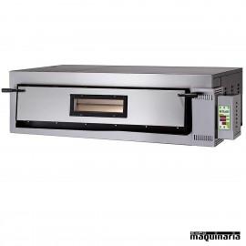 Horno pizza digital 4 - Ø36 6000W ASHOR106