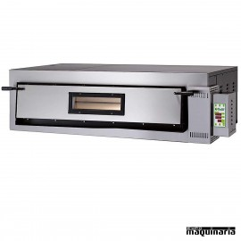 Horno pizza digital 6 - Ø36 9000W ASHOR108.