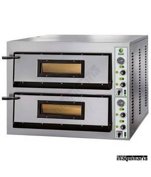 Horno pizza doble 12- Ø36 18000W ASHOR102