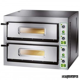 Horno pizza doble 12 - Ø30 ASHOR94