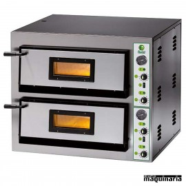Horno pizza doble 12- Ø30 ASHOR98