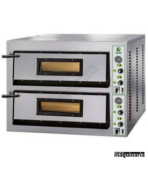 Horno pizza doble 18 - Ø36 26400W ASHOR71