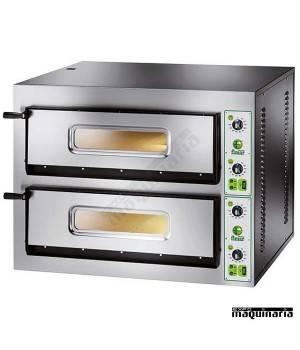 Horno pizza doble 8 - Ø30 8400W ASHOR92