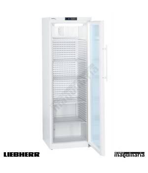 Refrigerador farmacia puerta cristal FGMKV3913