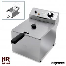 Freidora Semi industrial HRFD6LF de alto rendimiento - 6 litros