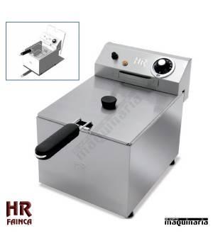 Freidora Semi industrial HRFD9LF de alto rendimiento - 9 litros