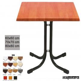 Mesa bar restaurante y hostelería 3R19SMC cuadrada
