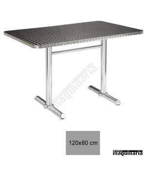 Mesa aluminio terraza 4R72AL
