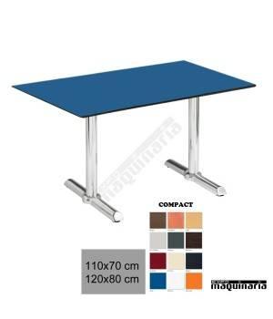 Mesa terraza 4R72CO aluminio hostelería