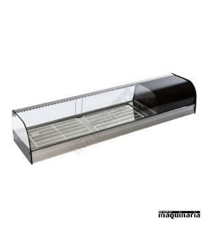 Vitrina refrigerada cristal curvo VGFR120i