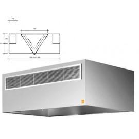 Campanas Reversibles compensada central 1200 cm largo