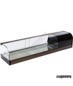 Vitrina refrigerada cristal curvo doble VGFR150iE