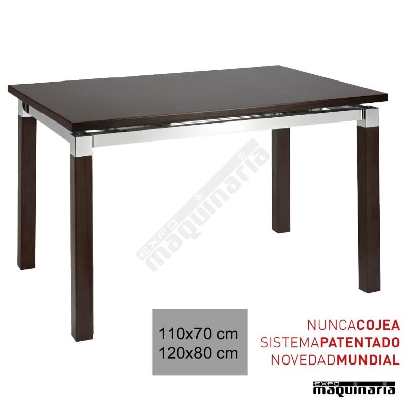 Mesa hosteler a madera 3r800 for Mesa 70x70 madera