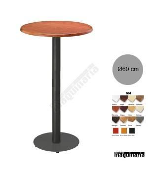 Mesa alta bar redonda 3R028