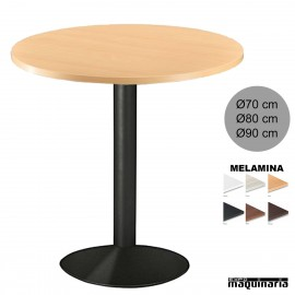 Mesa bar redonda 3R032 de interior