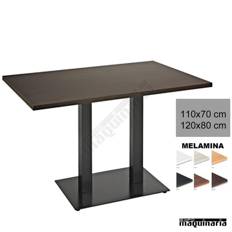 Mesa base rectangular 3r024me de hosteler a y restaurante - Mesas para hosteleria ...