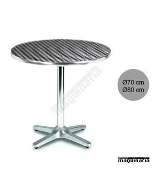 Mesa hostelería aluminio 3R27 terraza