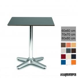 Mesa terraza aluminio 3R27COC hostelería