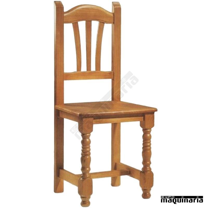 Sillas de madera para cocina awesome mesa y sillas en madera para comedor o cocina aos de gar - Sillas cocina madera ...
