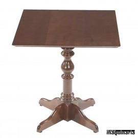 Mesa de madera cuadrada FASEVILLA CUADRADA