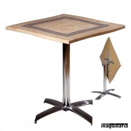 Mesa de aluminio para Terraza FAPISA4-C