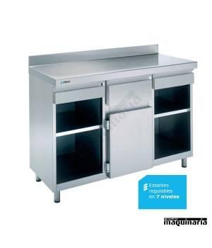 Mesa para cafetera 1 estante EDMAC1560