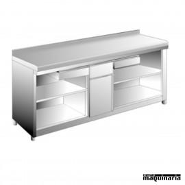 Mesa cafetera 1 estante EDMAC2560