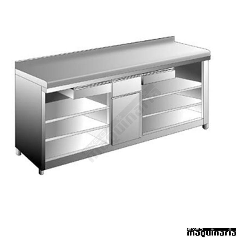 mueble para cafetera 2 estante edmac2560 2e diversidad