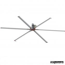 Ventilador techo industrial 6 aspas ARMISTRAL6M