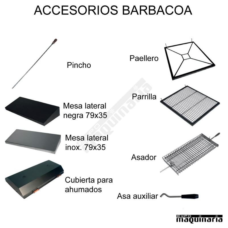 Barbacoa carbon hierro fundido arbbq 40 barbacoa profesional robusta - Barbacoas hierro fundido ...