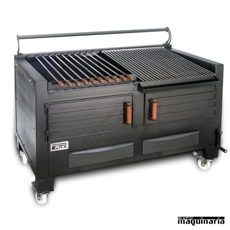 barbacoa chimenea hierro fundido para exterior comprar amazon