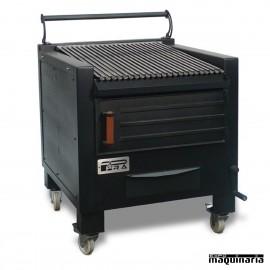 Barbacoa carbon hierro fundido ARBBQ-M80