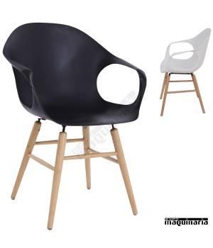 Silla con brazos hosteleria dl803 es una c moda y elegante - Sillas plasticas baratas ...