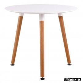 Mesa redonda madera hosteleria DL112