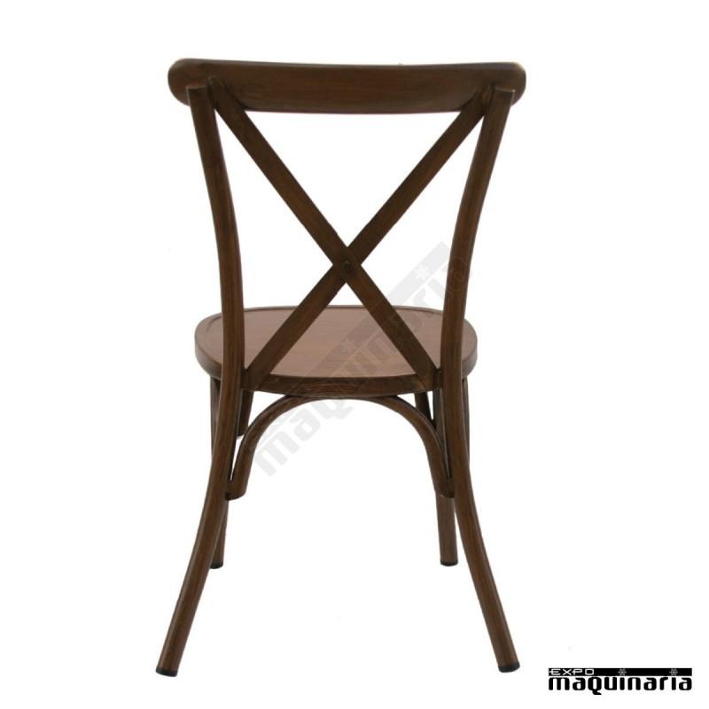 Silla vintage alumimio dlolimpic sillas de bar sillas de terraza - Sillas para terraza de bar ...