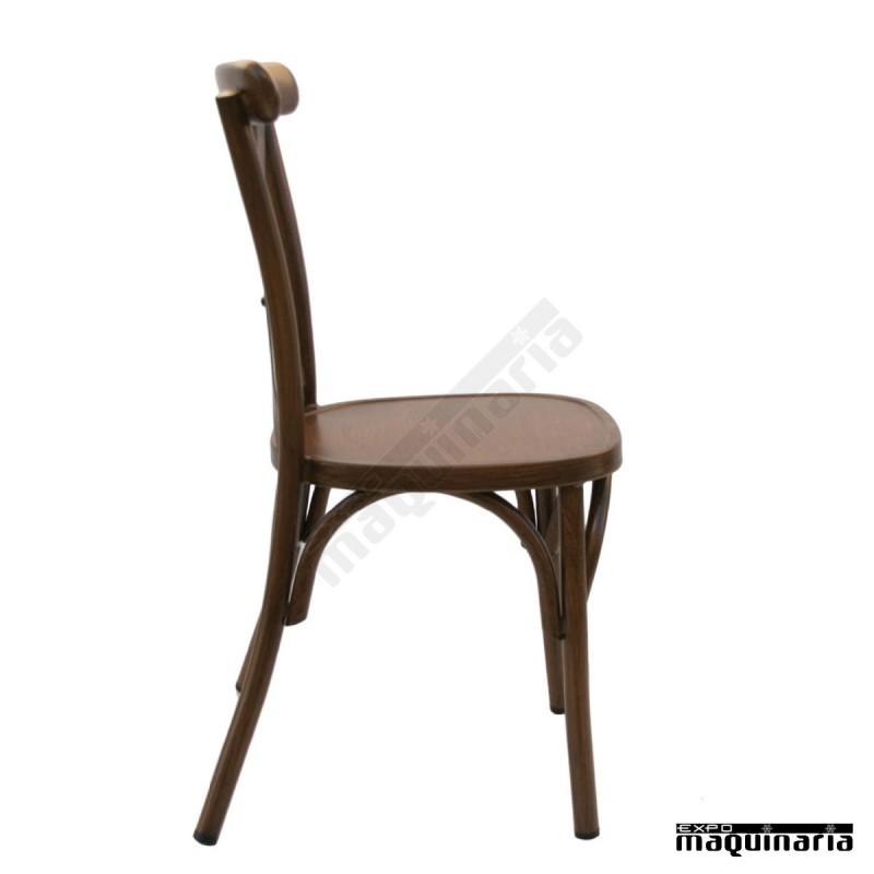 Silla vintage alumimio dlolimpic sillas de bar sillas de for Sillas para terraza bar