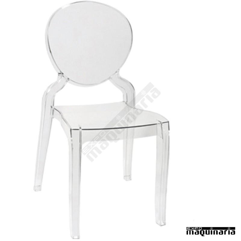 Silla transparente dlmonalisa sillas plastico sillas ikea for Sillas hierro ikea