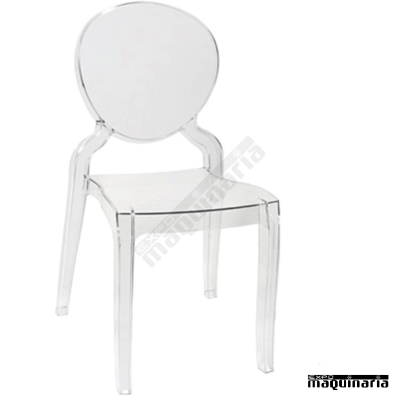 Silla transparente dlmonalisa sillas plastico sillas ikea for Sillas metacrilato transparente
