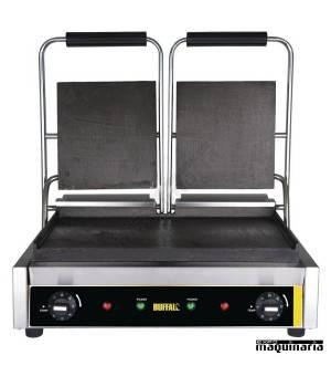 Grill plancha doble NIDM902 placas lisas