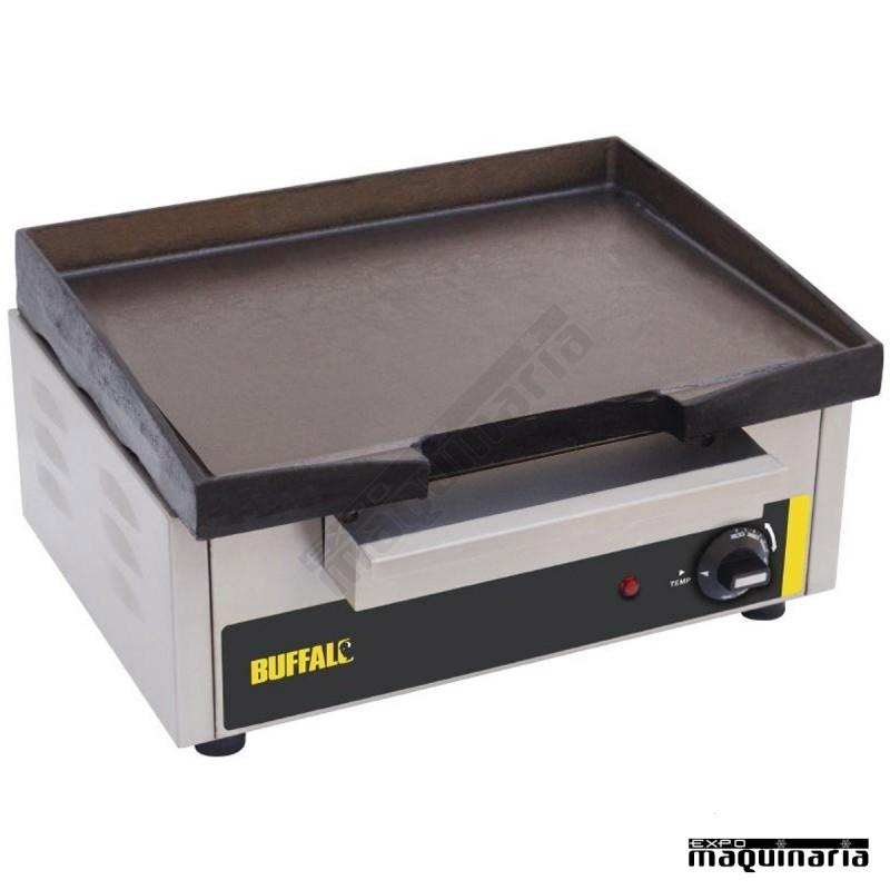 Plancha el ctrica sobremesa nip108 para un uso intensivo for Plancha electrica cocina