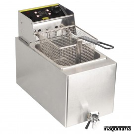 Freidora eléctrica uso intenso 8 litros NIGH126