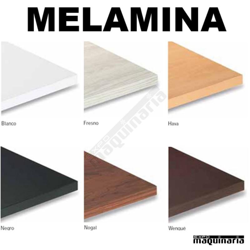 Tablero para mesas de melamina 70x70 cm con acabado en for Mesa para bar madera
