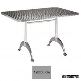 Mesa inox terraza 4R20AL bar
