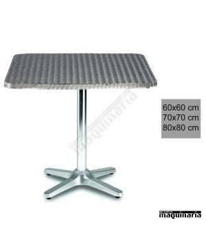Mesa terraza hostelería aluminio 3R27ALC