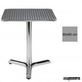 Mesa hostelería terraza 4R70ALC Aluminio