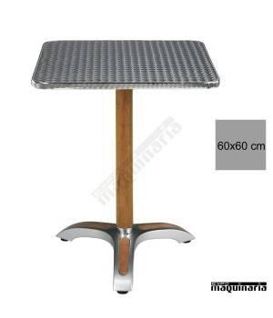 Mesa hostelería terraza 4R06ALC aluminio