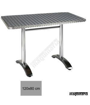 Mesa aluminio terraza hostelería 4R02AL