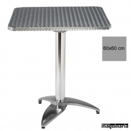 Mesa bar inox 4R45IC cuadrada