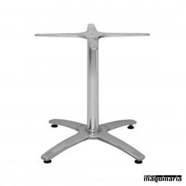 Base de aluminio para mesa baja NIGH448