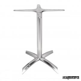Base de aluminio para mesa abatible NIGF926